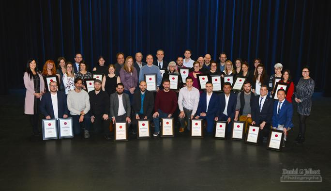 33e gala radissondes finalistes qui ont le vent dans les for Chambre de commerce de trois rivieres